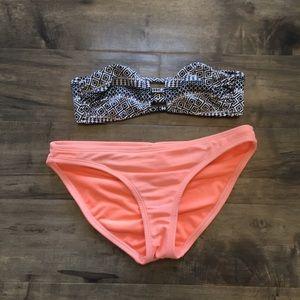 Cute bikini set size small and extra small